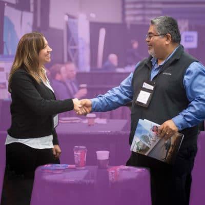 advanced business match meeting client